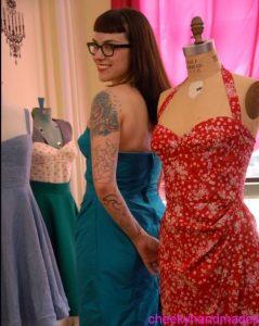 Adventures in dress making – the Gertie bombshell dress