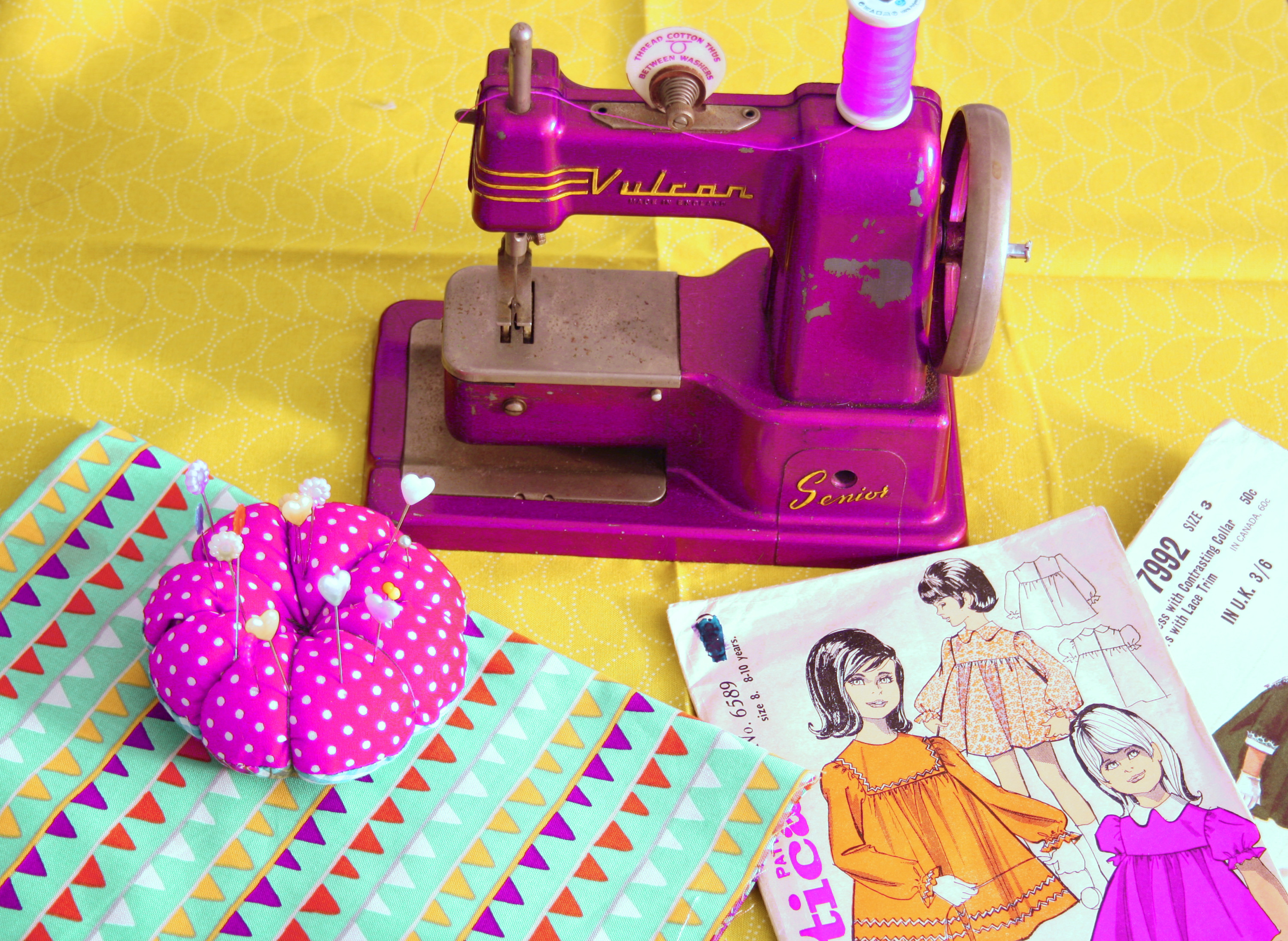 Repair Services (machines, quilts, clothes)